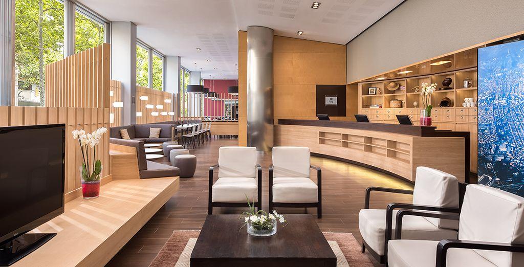 Ein trendiges Hotel erwartet Sie in bester Lage