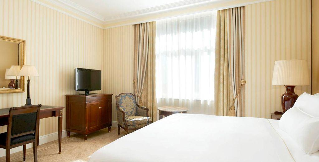 Ihr komfortables Premium Deluxe Zimmer
