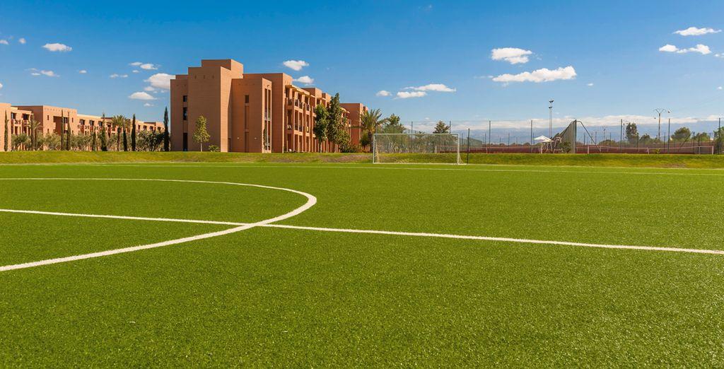 Spielen Sie Fußball