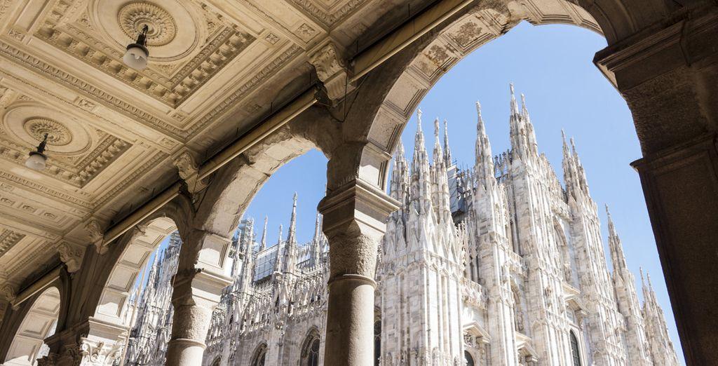 Willkommen in der Modestadt Mailand...