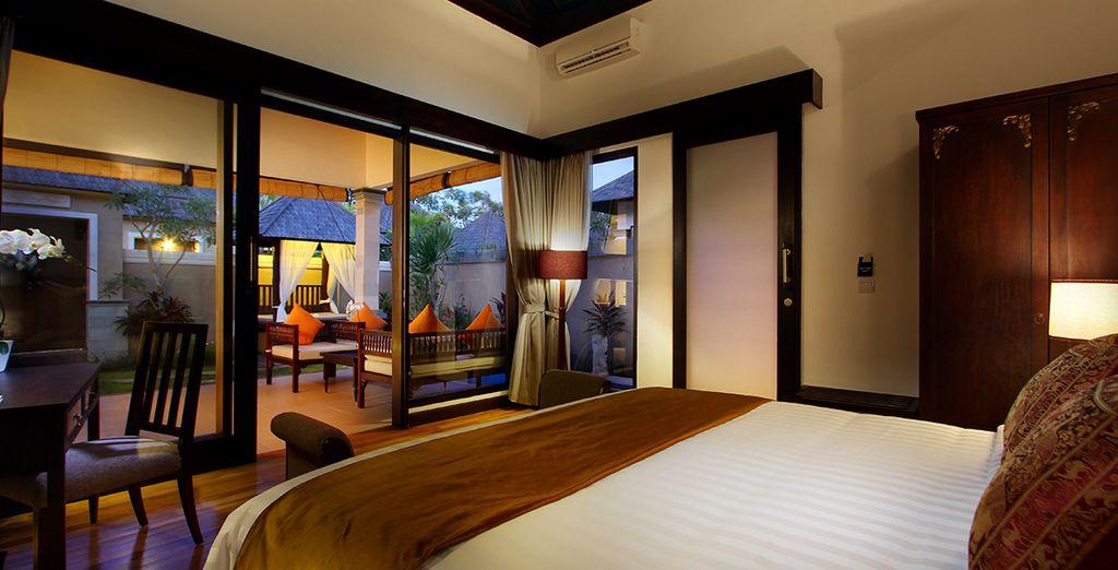 Willkommen auf Bali in Ihrer Villa mit Pool!