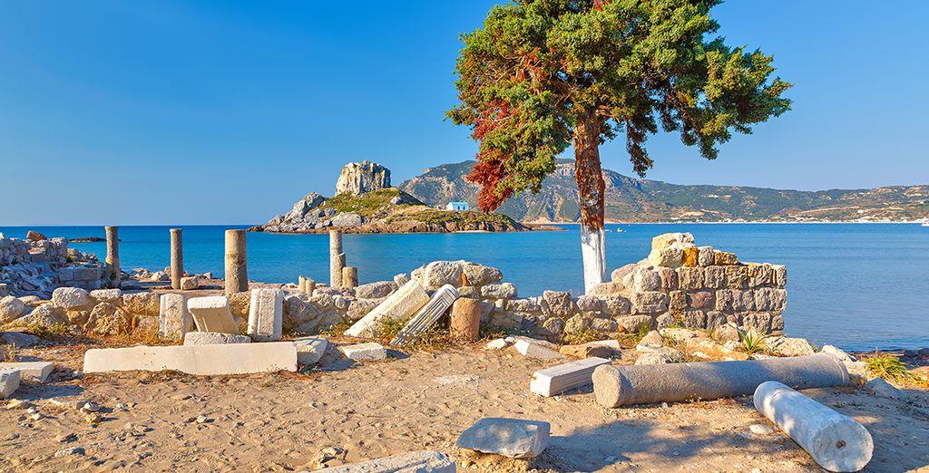 Voyage Privé wünscht Ihnen einen schönen Aufenthalt auf der Insel Kos!