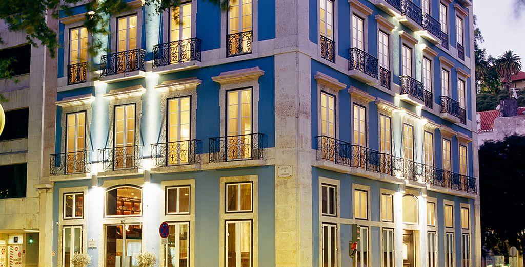 Dem Heritage Avenida Liberdade Hotel 4*
