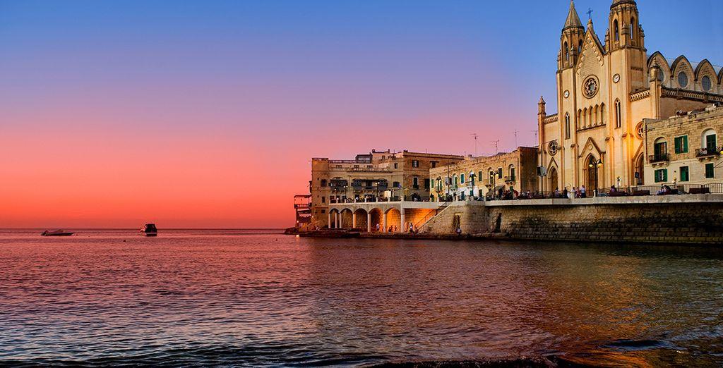 Wir wünschen Ihnen einen wunderschönen Aufenthalt in Malta!