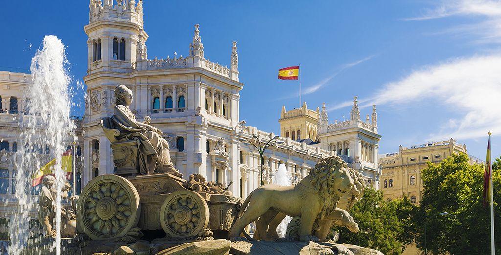 Entdecken Sie die Sehenswürdigkeiten von Madrid