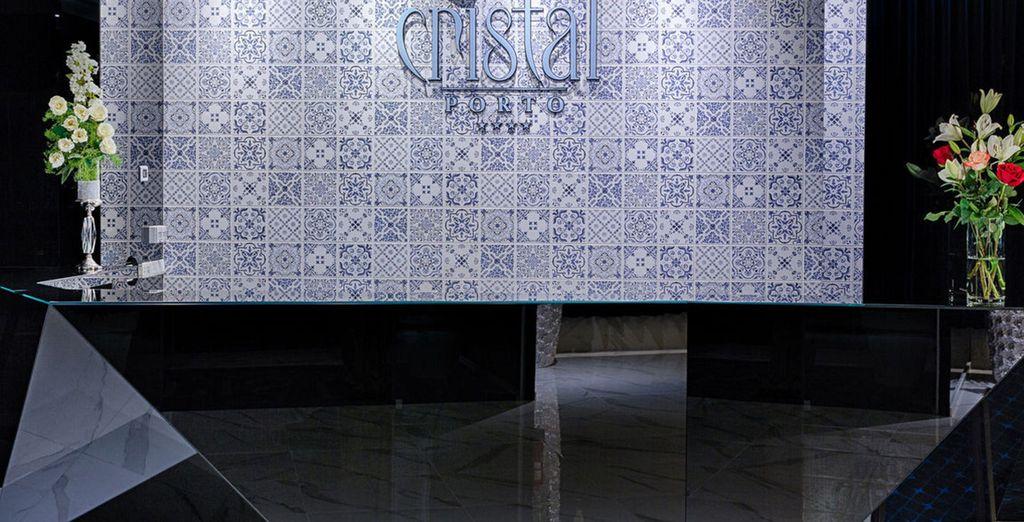 Sie werden im stilvollen 4* Cristal Hotel logieren!