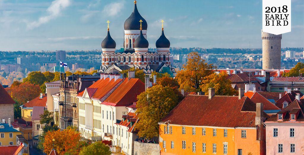 Begeben Sie sich auf eine ausgefallene Reise in die schönsten baltischen Städte