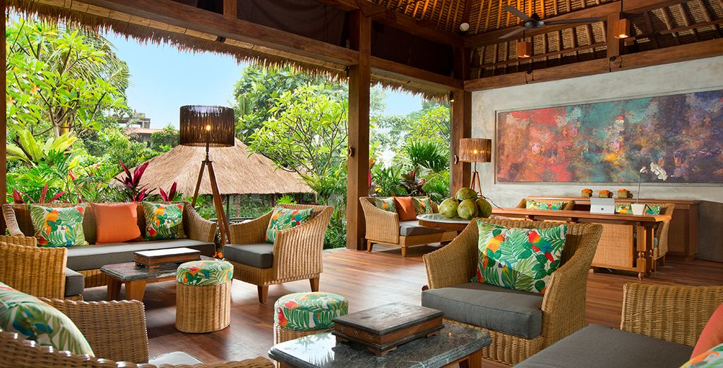 Hier werden Sie im charmanten Alaya Resort Jembawan 4* übernachten