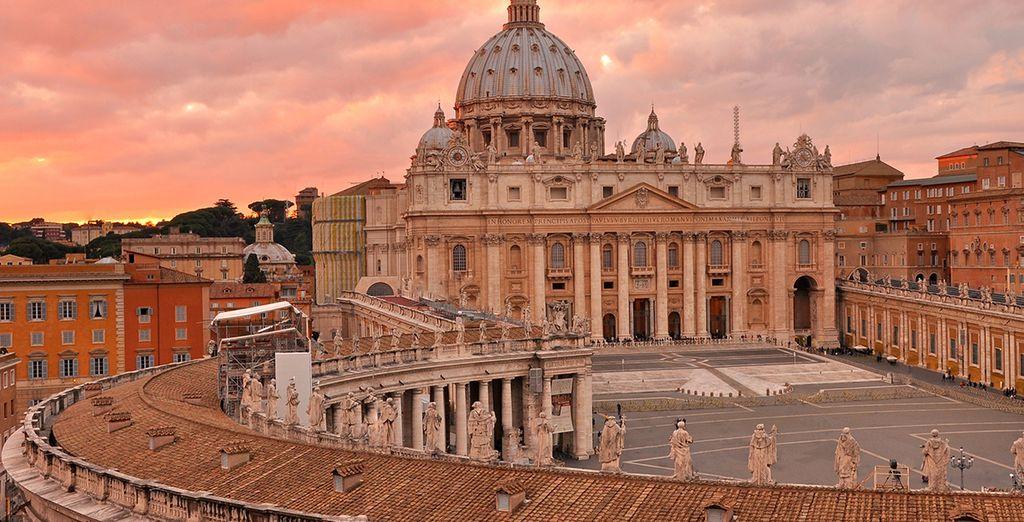 Wir wünschen Ihnen einen schönen Aufenthalt in der ewigen Stadt Rom!