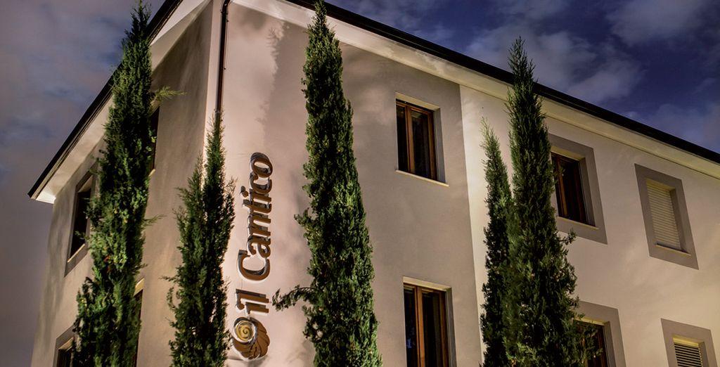 Das Hotel Il Cantico empfängt Sie herzlich!