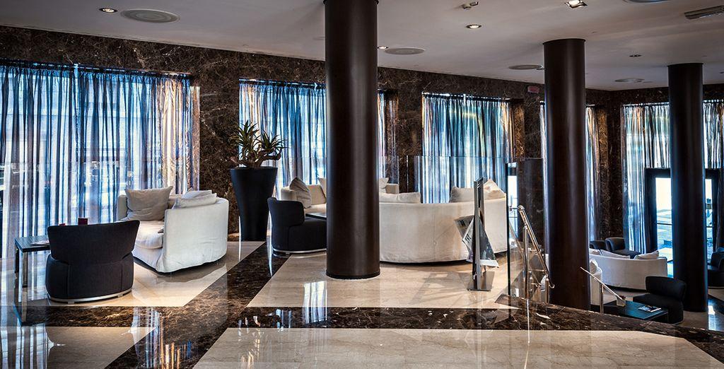 Komfortable Räumlichkeiten mit modernem Design