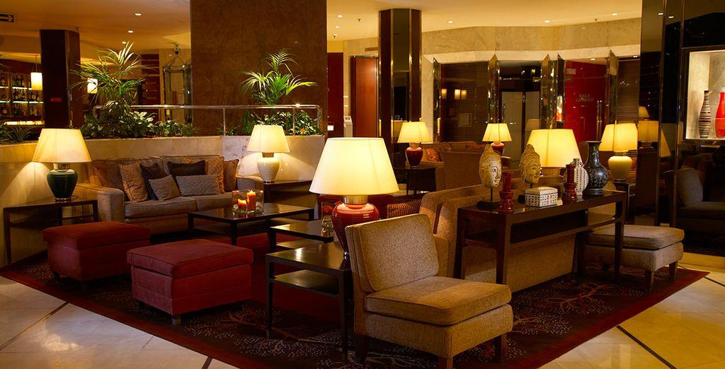 Ein komfortables Hotel mit einer gemütlichen Atmosphäre
