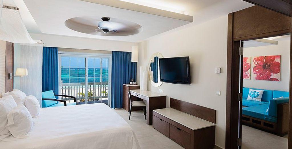 Oder im Superior Zimmer Ocean Front Premium Level