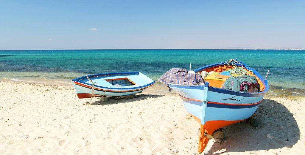 Wir wünschen Ihnen einen wunderschönen Aufenthalt in Tunesien!