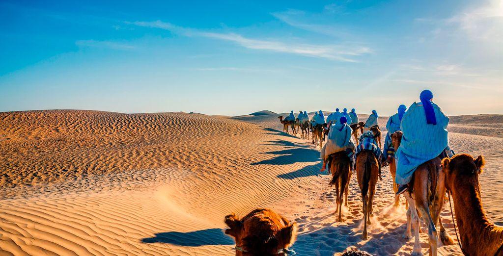 Vor den Toren der Sahara