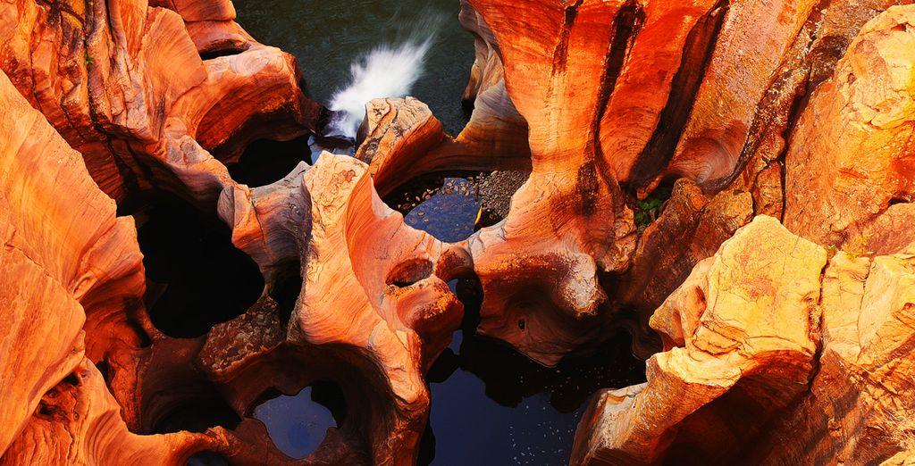 Entdecken Sie Blyde Canyon und seine faszinierenden Farben