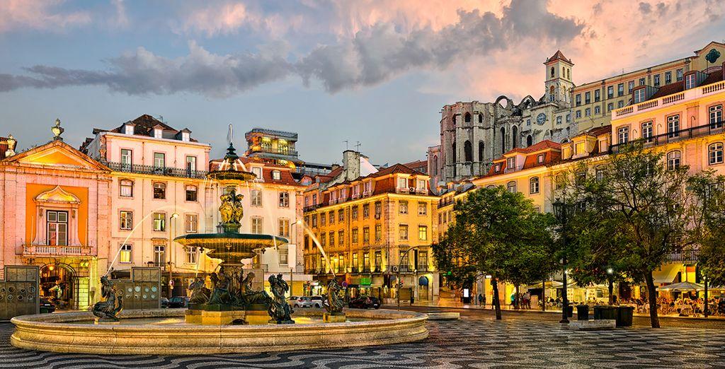 Schlendern Sie durch Lissabon