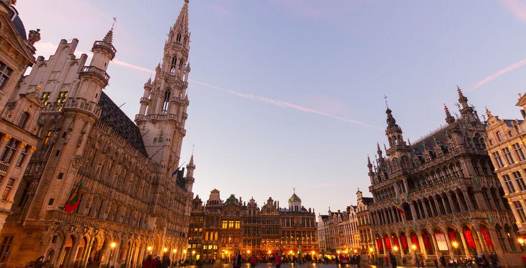 Wir wünschen Ihnen einen schönen Aufenthalt in Brüssel!