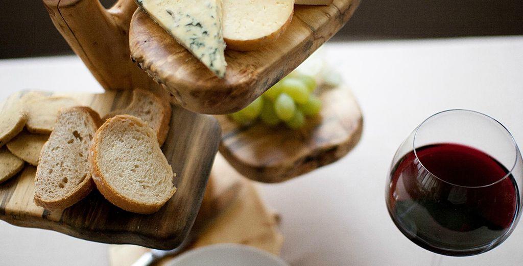 Entscheiden Sie sich optionale für eine Verpflegung mit Halbpension für kulinarischen Genuss