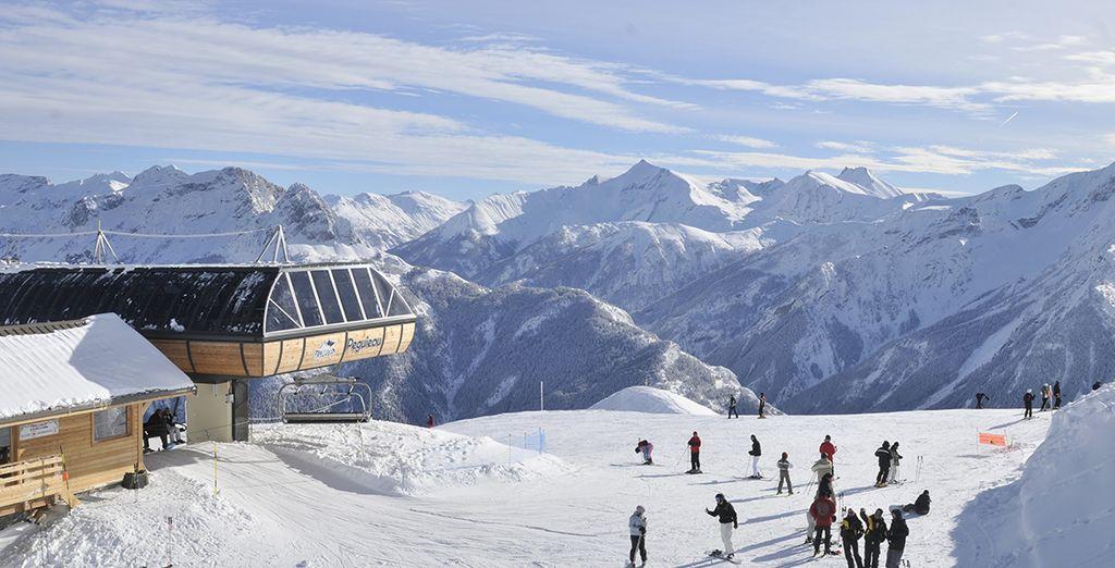 Willkommen im Skigebiet Pra-Loup!