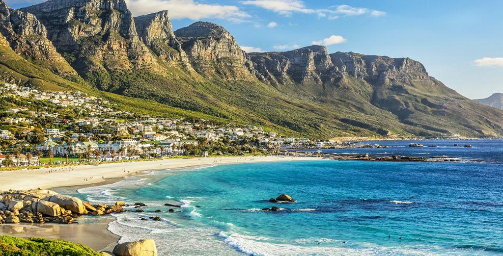 Entspannen Sie sich an den schönen Stränden Südafrikas.