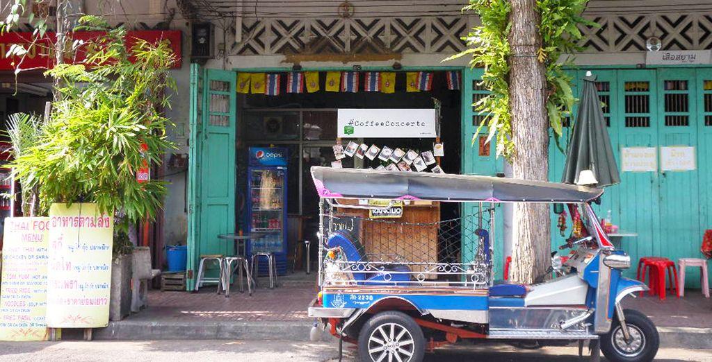Entdecken Sie Bangkok