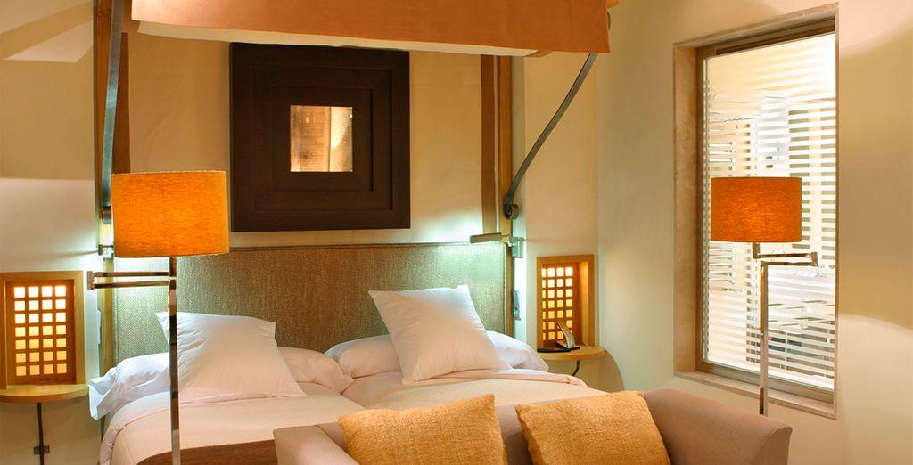 Genießen Sie die Ruhe Ihres komfortablen und gemütlichen Zimmers