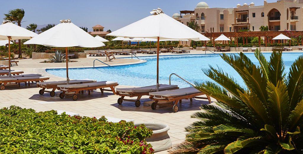 Buchen Sie das Hotel Kempinski Soma Bay in Ägypten und genießen Sie die Sonne