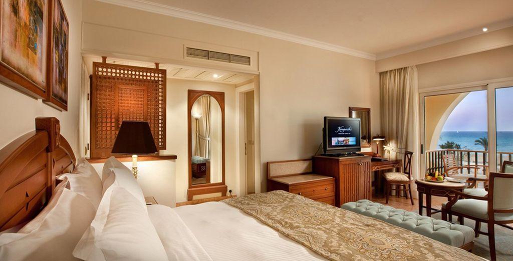 Buchen Sie das luxuriöse Kempinski Soma Bay Hotel auf Voyage Privé - Ägypten