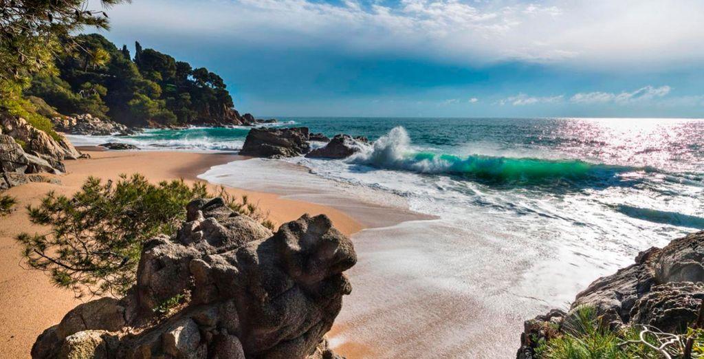 Genießen Sie die umliegenden Landschaften im Herzend er Costa Brava