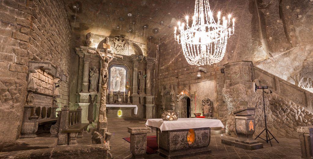 Und entdecken Sie das Salzbergwerk Wieliczka