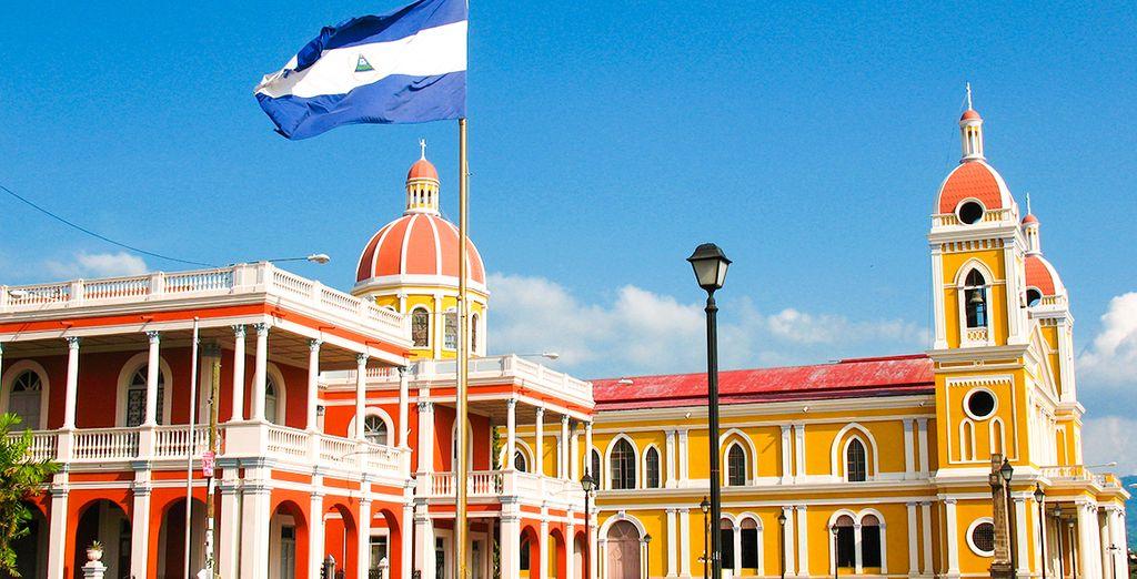 Anschließend geht es weiter nach Granada in Nicaragua