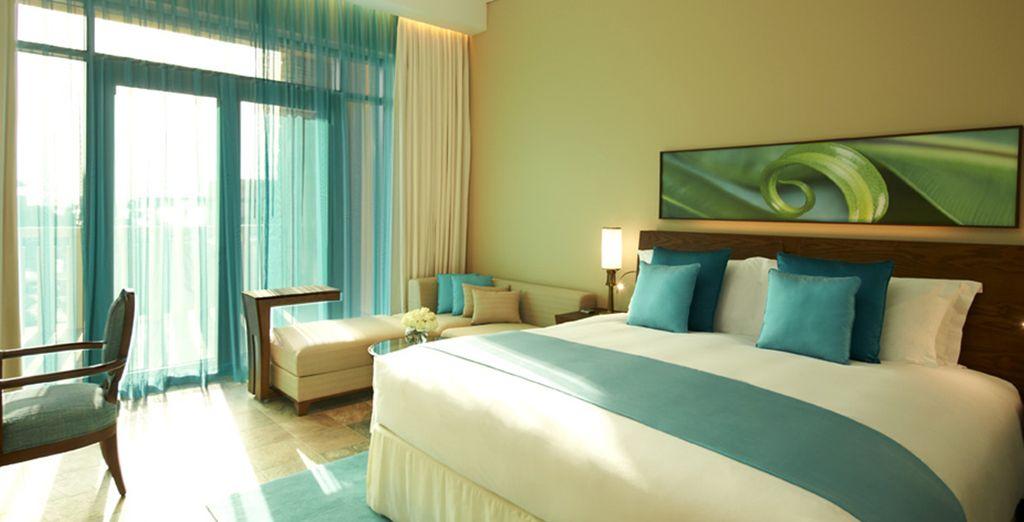 Ein Luxury Zimmer mit schönem Ausblick