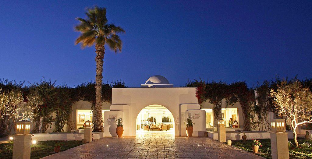 Einem wunderbaren Resort auf Djerba...