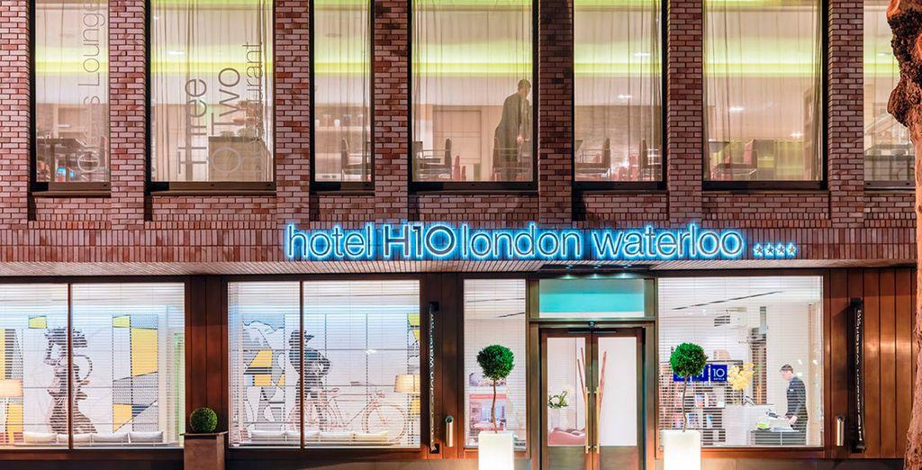 Willkommen im Hotel Waterloo in London