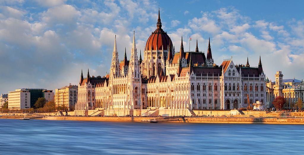 Das berühmte Parlamentsgebäude...