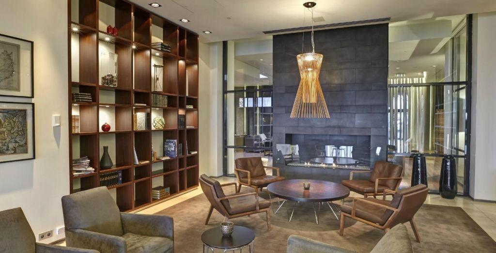Sie werden im stilvollen Hilton Nordica logieren