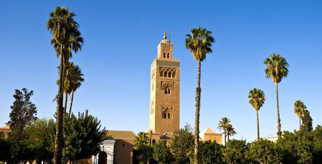 Machen Sie einen Spaziergang durch die Medina