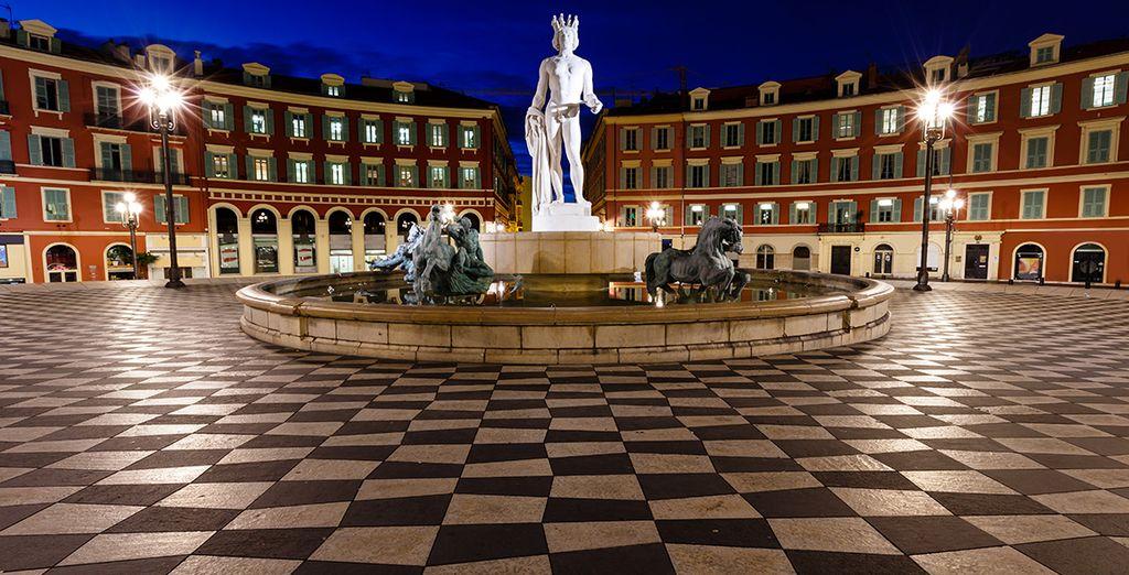 Die Stadt Nizza hält viele Sehenswürdigkeiten für Sie bereit