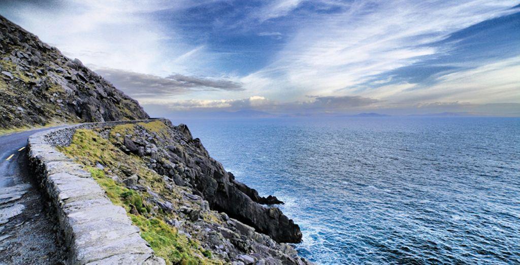 Sie werden durch die Grafschaft Kerry reisen