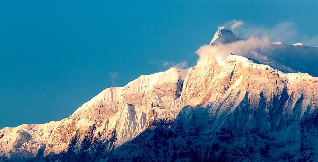 Entdecken Sie den beeindruckenden Mount Everest