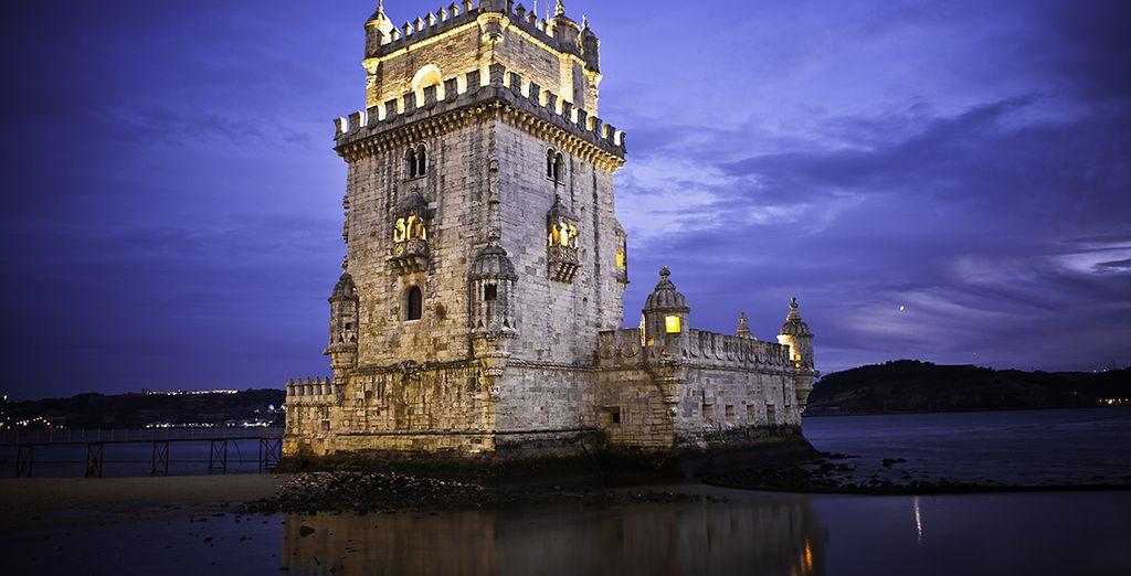 Der eindrucksvolle Turm von Belem