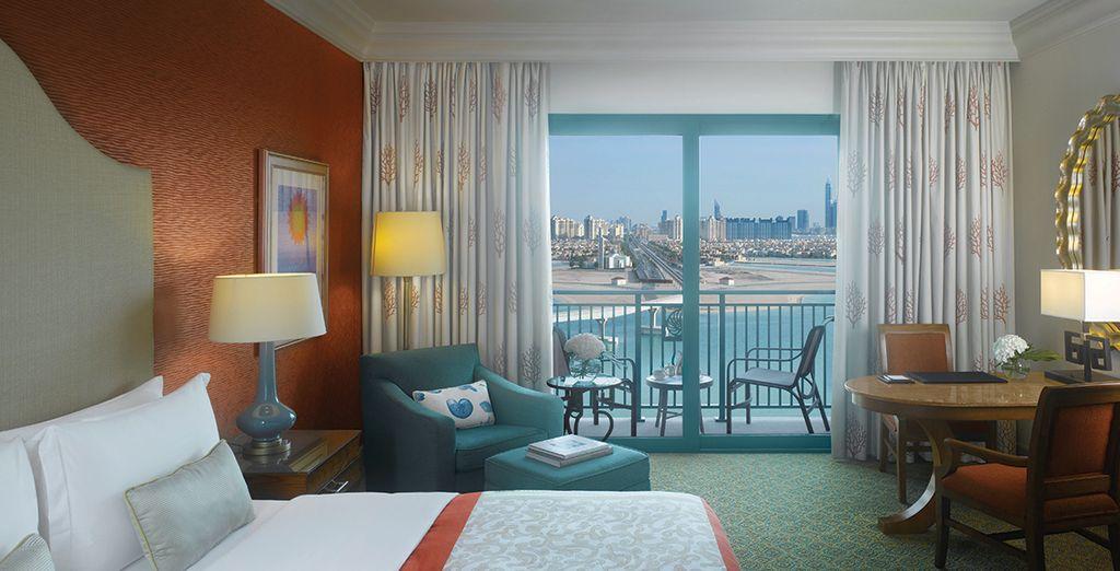 Oder buchen Sie ein elegantes Palm Beach Deluxe Zimmer!