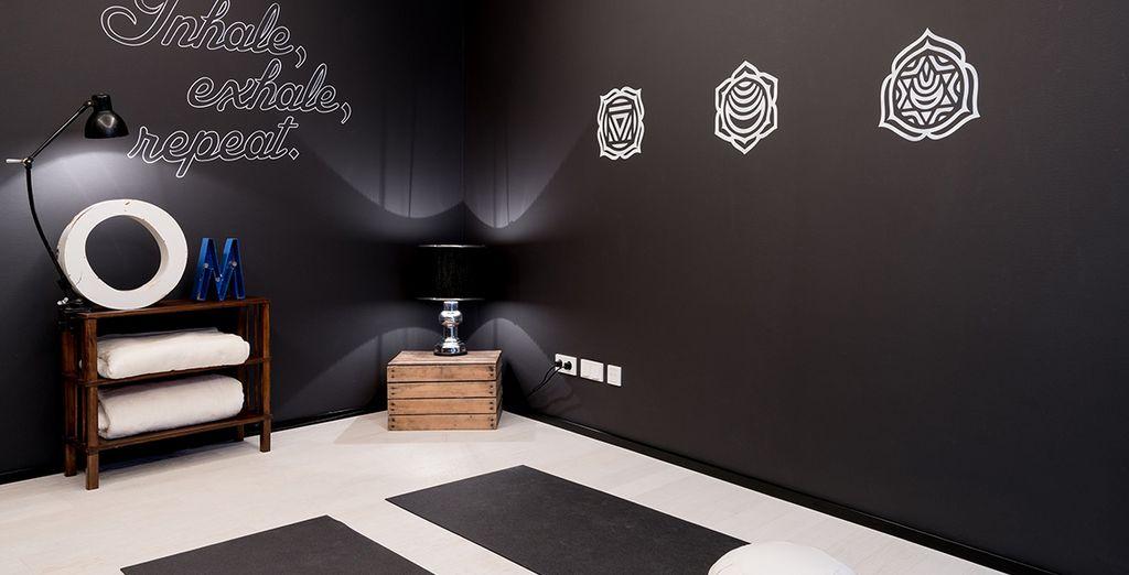 Entspannen Sie im Zen-Meditationsraum