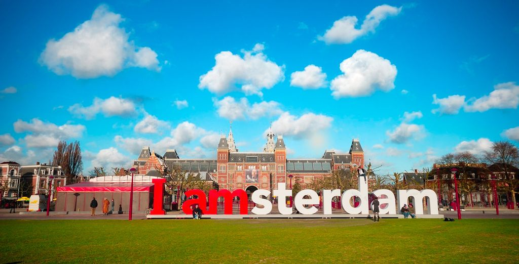Gute Reise in die niederländische Hauptstadt!