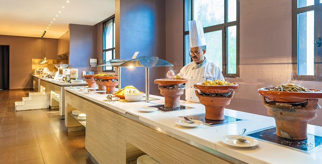 ... und genießen Sie marokkanische Köstlichkeiten
