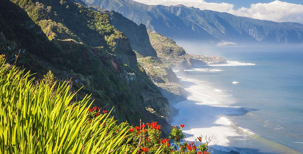 Und erkunden Sie die Insel Madeira