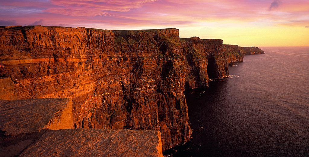 Lassen Sie sich von den Cliffs of Moher verzaubern