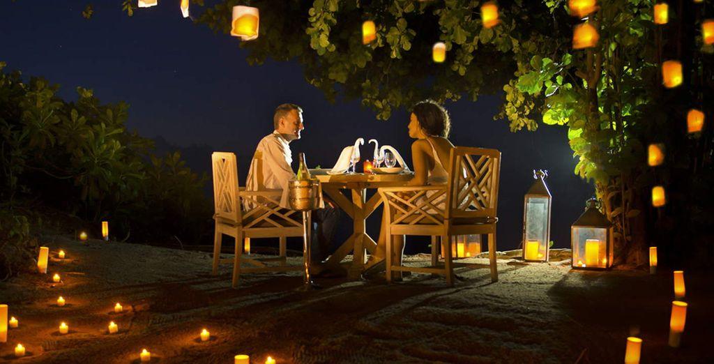 Verbringen Sie romantische Momente