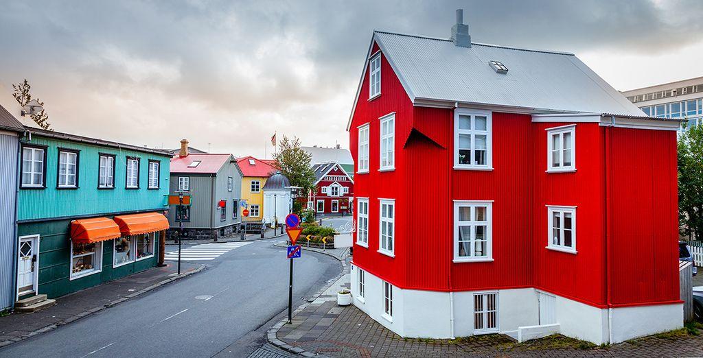 Erkunden Sie die wunderschöne Stadt mit Ihrer typischen Architektur